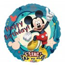 "Disney Happy Birthday Mickey Mouse Sing A Tune 28"" Foil Balloon Party Supply"