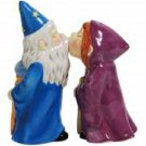 Magnetic Magical Wizards Couple Kissing Salt and Pepper