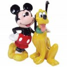 Mickey InspEARations Mickey Mouse & Pluto Dog BFF Salt and Pepper