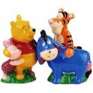 Life According to Eeyore~ Pooh Eeyore Piglet Tigger Best Friends Salt Pepper