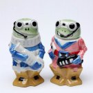 Funky Robot Frog Salt and Pepper