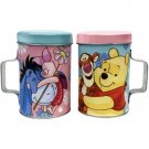 Disney Winnie The Pooh and Piglet Tin Salt and Pepper