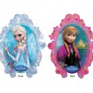 "Disney Frozen Princess Anna and Elsa 31"" Foil Balloon Party Supply"