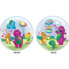 "Barney and Friends 22"" Bubble Balloon Party Supply"