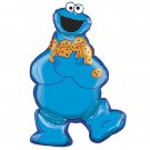 "Sesame Street Monster Cookie Full Body 31"" Foil Balloon Party Supply"