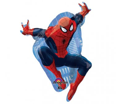 "Super Hero Spider Man Full Body 30"" Foil Balloon Party Supply"