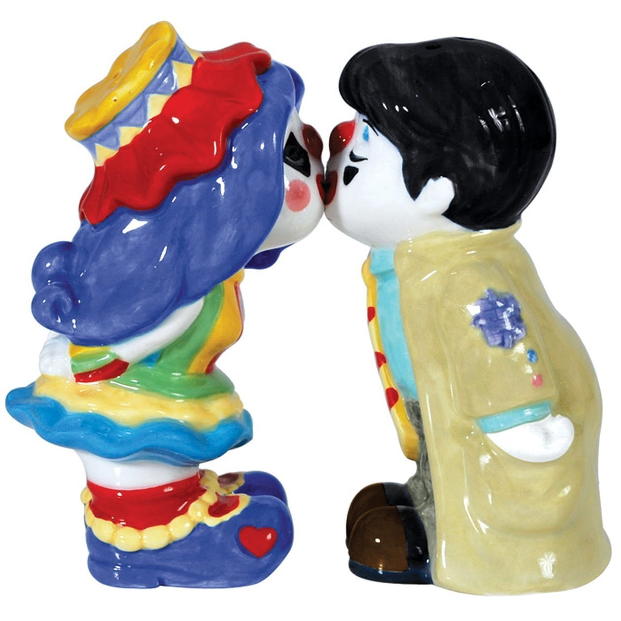 MWAH Clown Kissing Salt and Pepper
