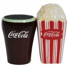 Coca Cola and Popcorn Salt and Pepper Shaker Set Kitchen Ware