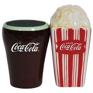 Coca Cola and Popcorn Salt and Pepper Shaker Set Kitchen Ware