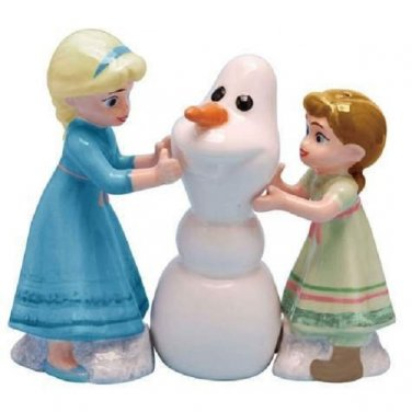 Disney Frozen Do You Want to Build a Snowman? Salt & Pepper Shaker Set