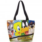 Looney Tune Bugs Bunny Daffy Tweety Bird Taz Tote Bag NWT