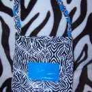 Wild Zebra Duck Tape Purse