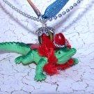 Ruby Red Gator