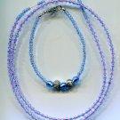 Blue Sea Necklace Set