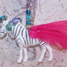Circus Zebra Necklace!