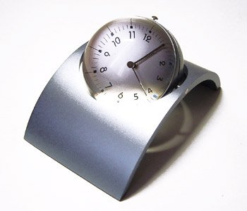 Arch magnifier Globe Clock / Photo Frame