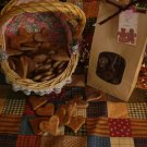50 Primitive Wax Dipped Hearts for Fixins or Bowl Fillers