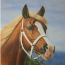 "oil painting (Horse 24""*36)"