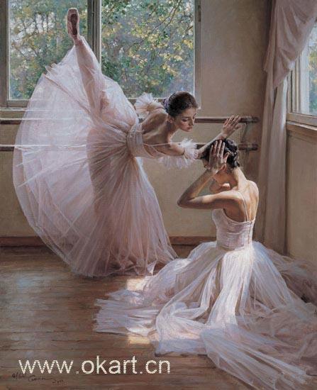 "Oil painting(ballet-001,24""*36"")"