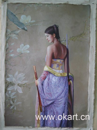 "Oil painting(Chinese people-006,24""*36"")"