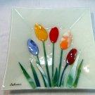 Fused flower plate