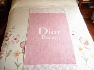 Dior Shower Towel