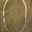 """Jojak Brand Silver Color Magnetic Mariner Necklace 4mm Extends 18.5"""" to 20"""""""