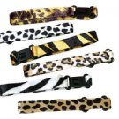 12 Animal Print Bracelet's assorted
