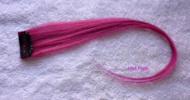 """12""""Blue,Red,Pink,Blond,Green.Purple Human Hair Clip In Extensions for Highlights"""