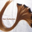 """18"""" #30(M.Auburn) Human Hair Clip on in Extensions for Highlights"""