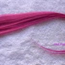 "12""Pink,Blond,Green.Purple Blue,Red,Human Hair Clip In Extensions for Highlights"