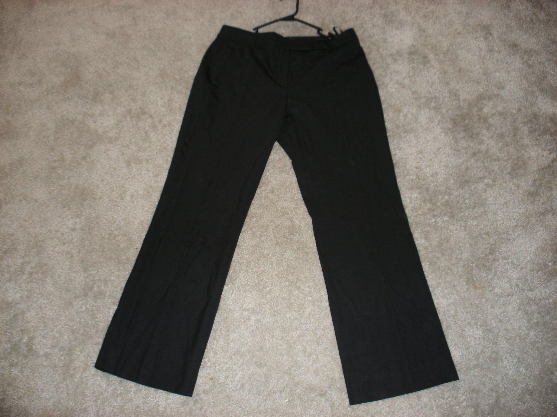 LOUIS VUITTON BLACK PANTS SIZE 42