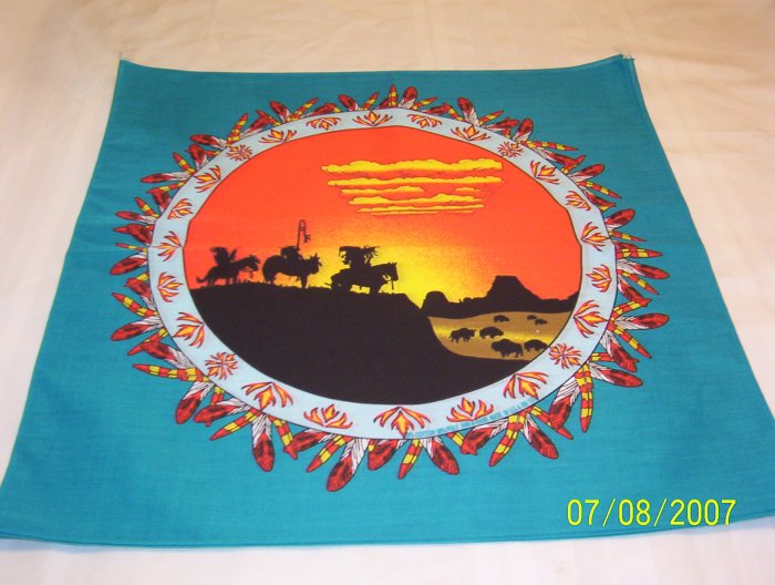 Buffalo Sunset Bandana