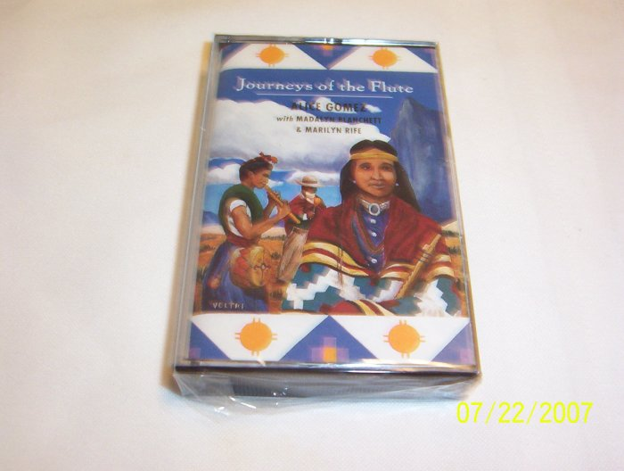 Journeys of the Flute by Alice Gomez Cassette