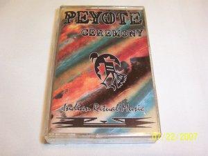 Peyote Ceremony Cassette