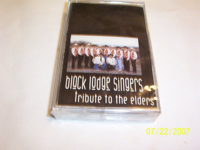 Tribute to the Elders by Black Lodge Singers Cassette