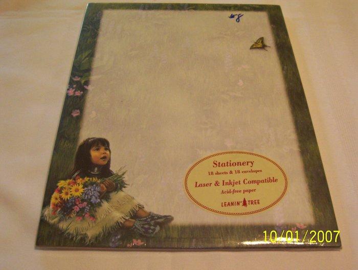 Little Girl Stationery