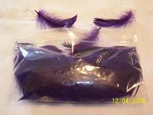 Purple Florette Feathers - 1/2 oz
