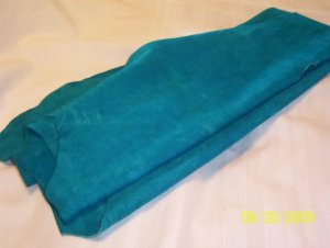 Turquoise - Cow Hide - 12.1 sq ft