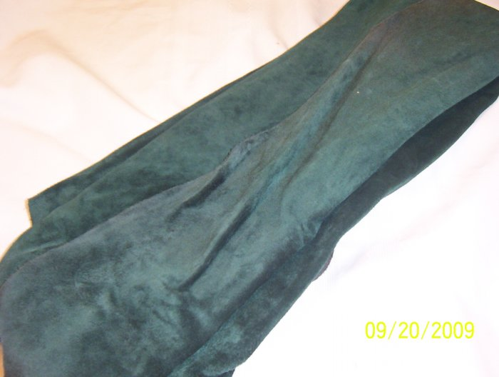 Hunter Green - Tanned Cow Hide