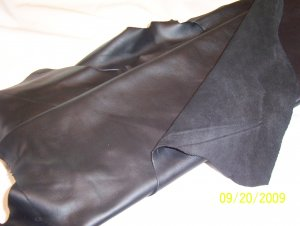 Black - Motorcycle Leather