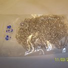 10/0 Cut beads - Silver