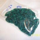 10/0 Cut beads - Peacock
