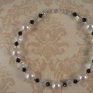 Black and Crystal Swarovski Bracelet