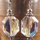 Swarovski Crystal 28x21mm Faceted Earring