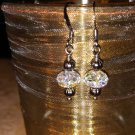 6mm Swarovski Crystal with Gun Metal Earring