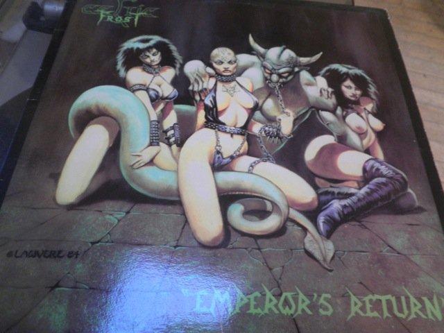 CELTIC FROST - EMPEROR'S RETURN ORIG 1984 METAL LP