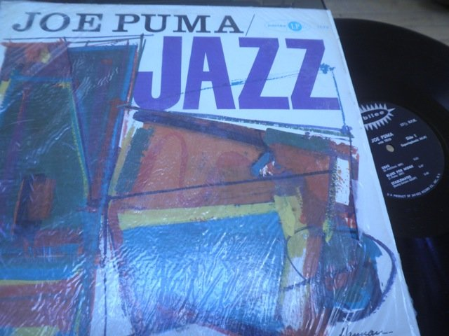 JOE PUMA - JAZZ GUITAR Jubilee in shrink US LP M-