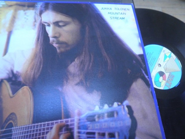 JUKKA TOLONEN - MOUNTAIN STREAM 1979 PSYCH SONET LP M-