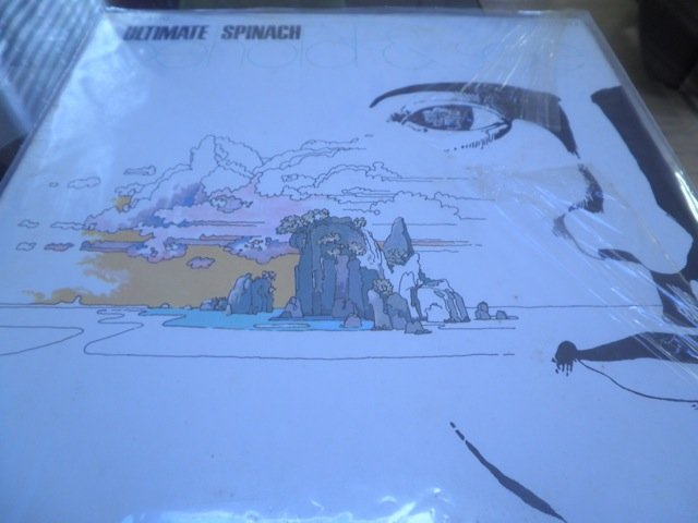 ULTIMATE SPINACH - BEHOLD & SEE orig US PSYCH LP in shrink M-